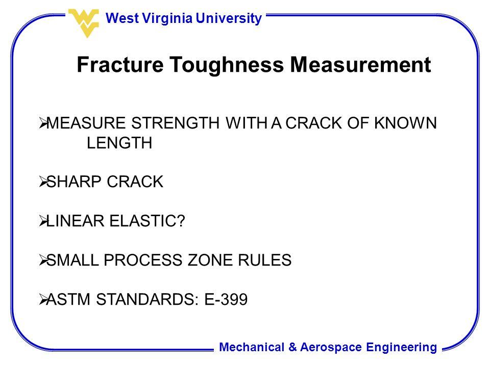 Fracture Toughness Measurement