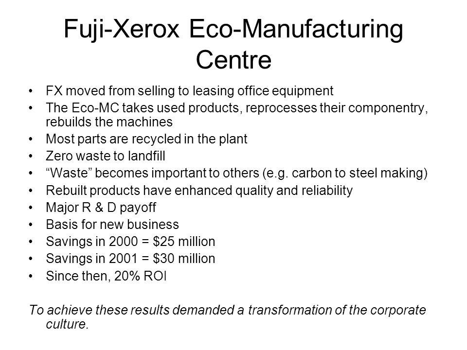 Fuji-Xerox Eco-Manufacturing Centre
