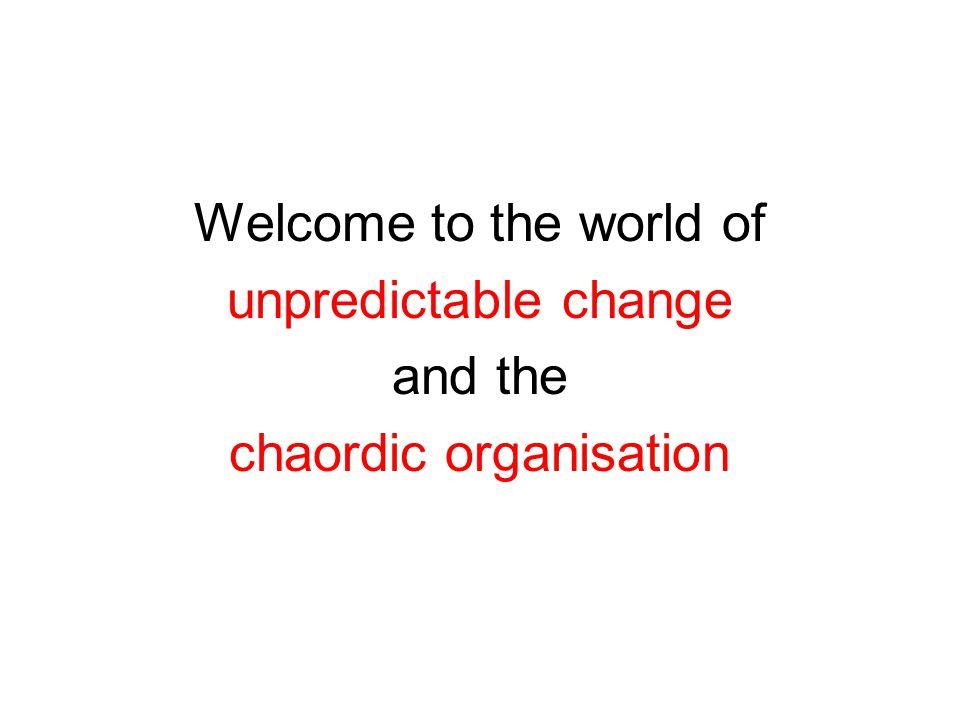 chaordic organisation