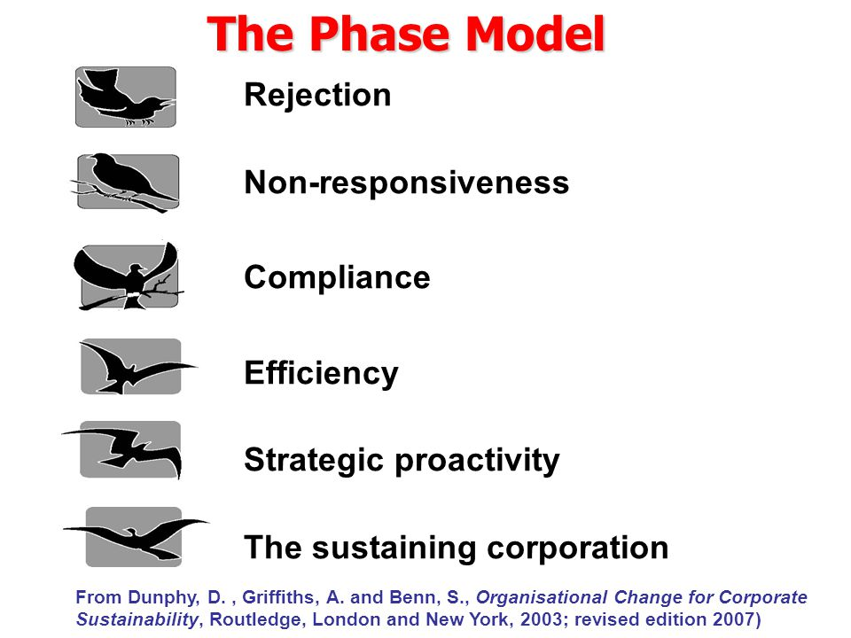 The Phase Model Rejection Non-responsiveness Compliance Efficiency