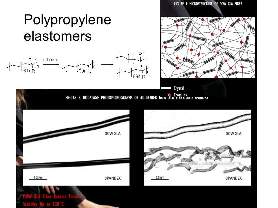 Polypropylene elastomers