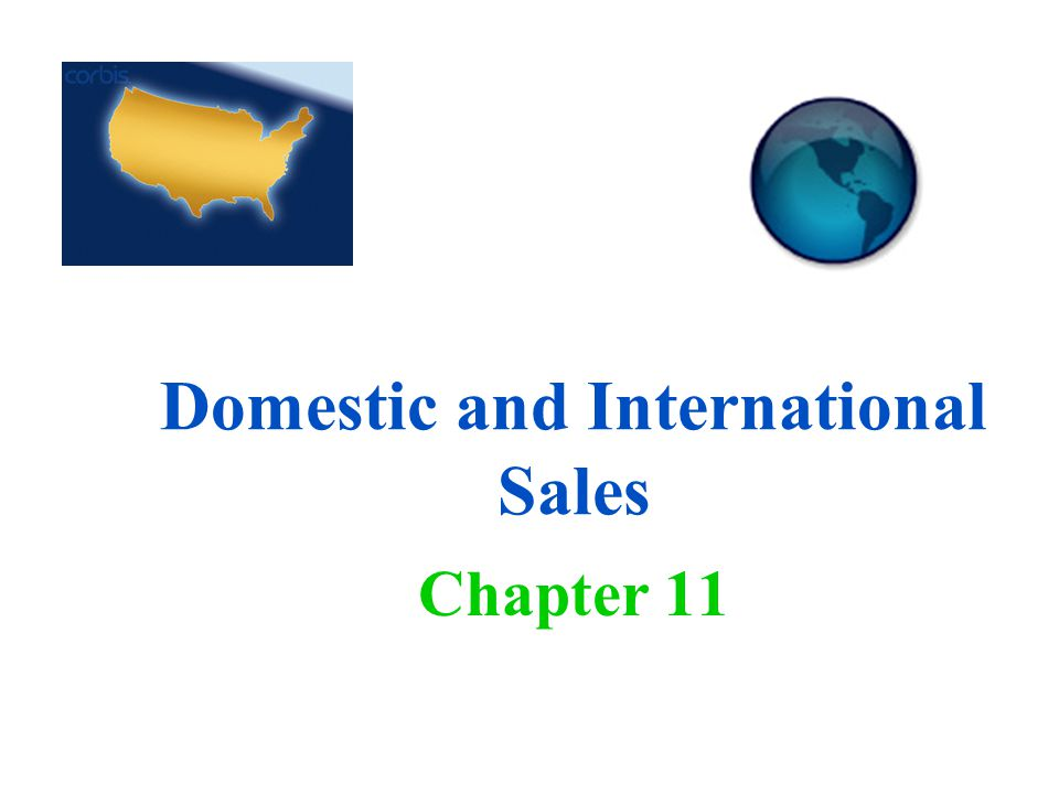 Domestic and International Sales