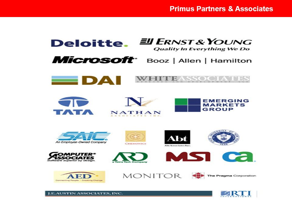 Primus Partners & Associates Primus Partners and Associates