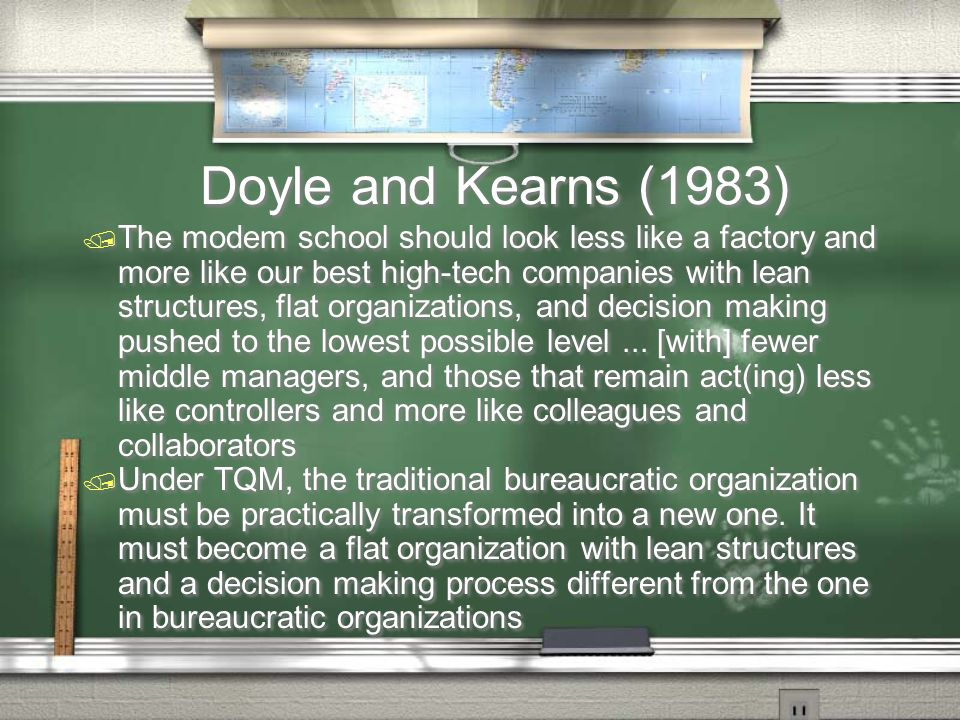 Doyle and Kearns (1983)