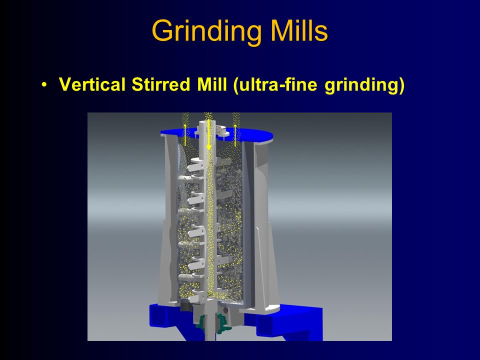 Grinding Mills Vertical Stirred Mill (ultra-fine grinding)
