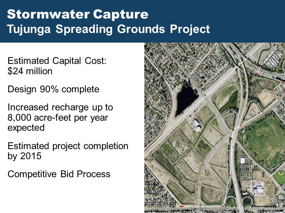 Stormwater Capture Tujunga Spreading Grounds Project