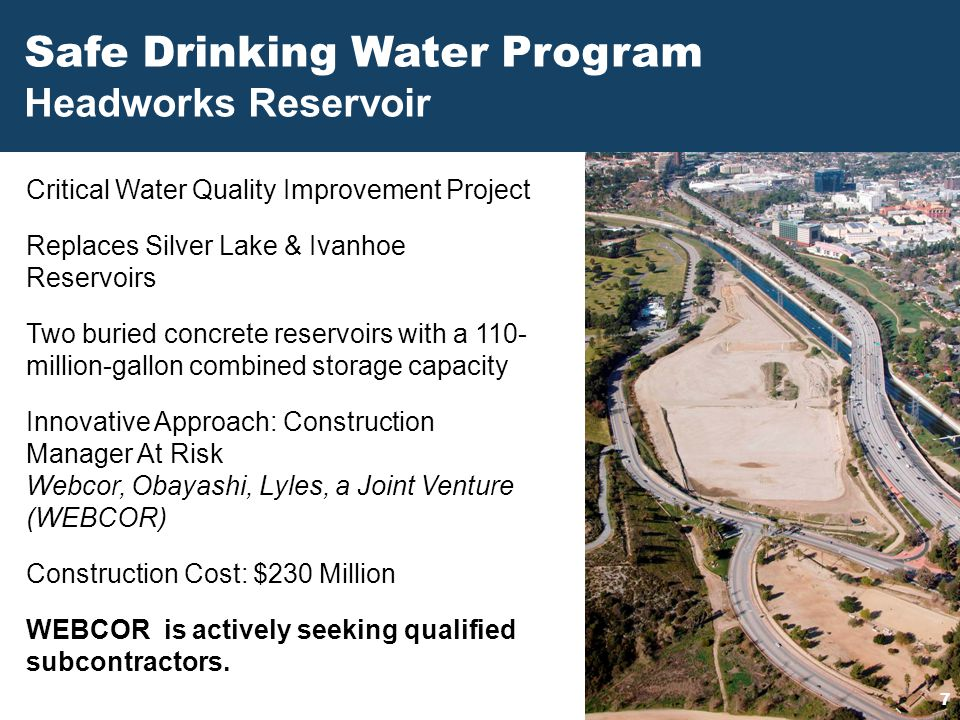 Safe Drinking Water Program
