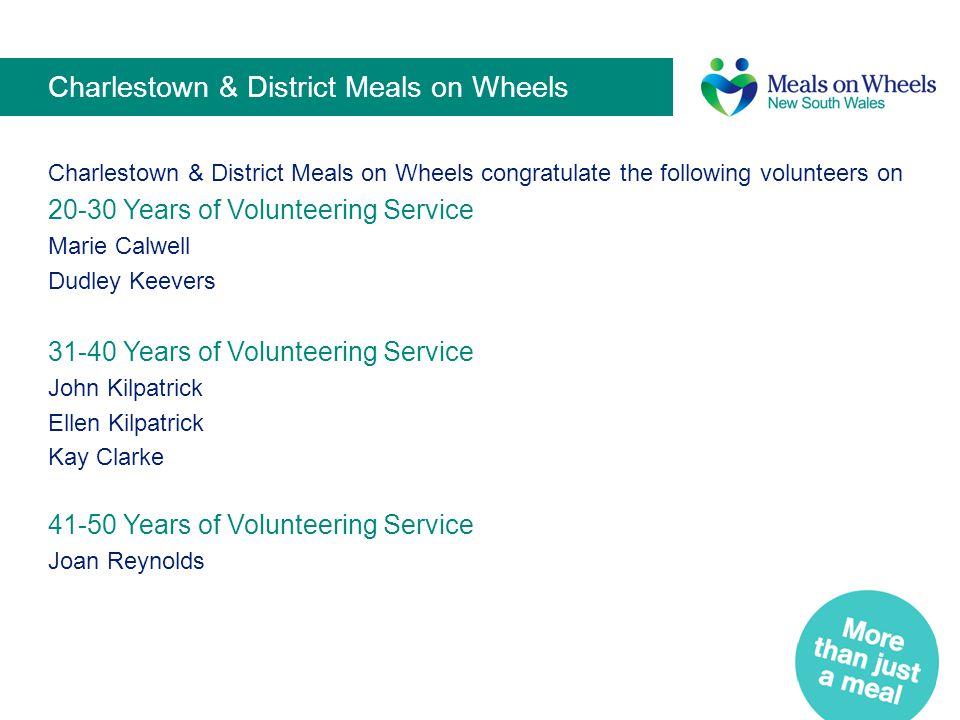 Charlestown & District Meals on Wheels