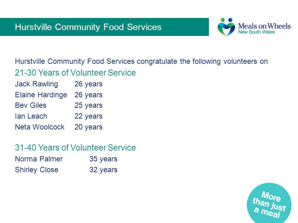 Hurstville Community Food Services