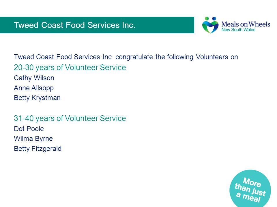 Tweed Coast Food Services Inc.