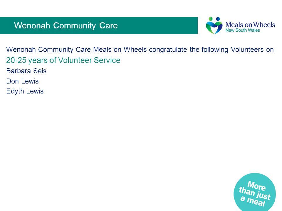 Wenonah Community Care
