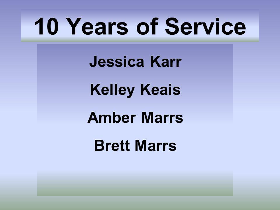 Jessica Karr Kelley Keais Amber Marrs Brett Marrs