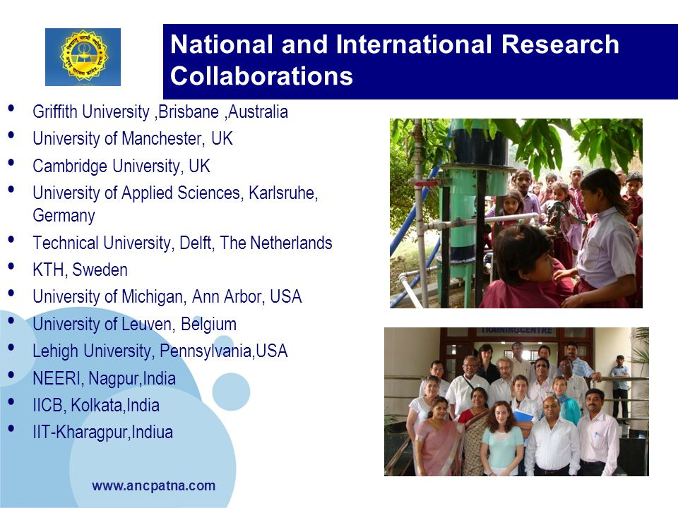 National and International Research Collaborations