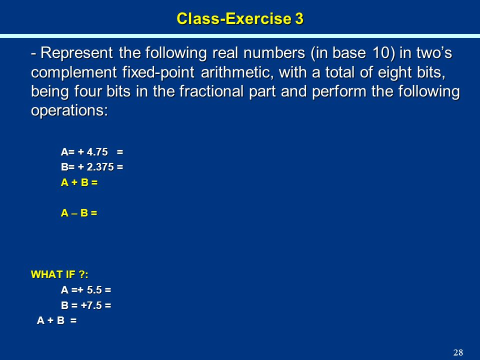 Class-Exercise 3