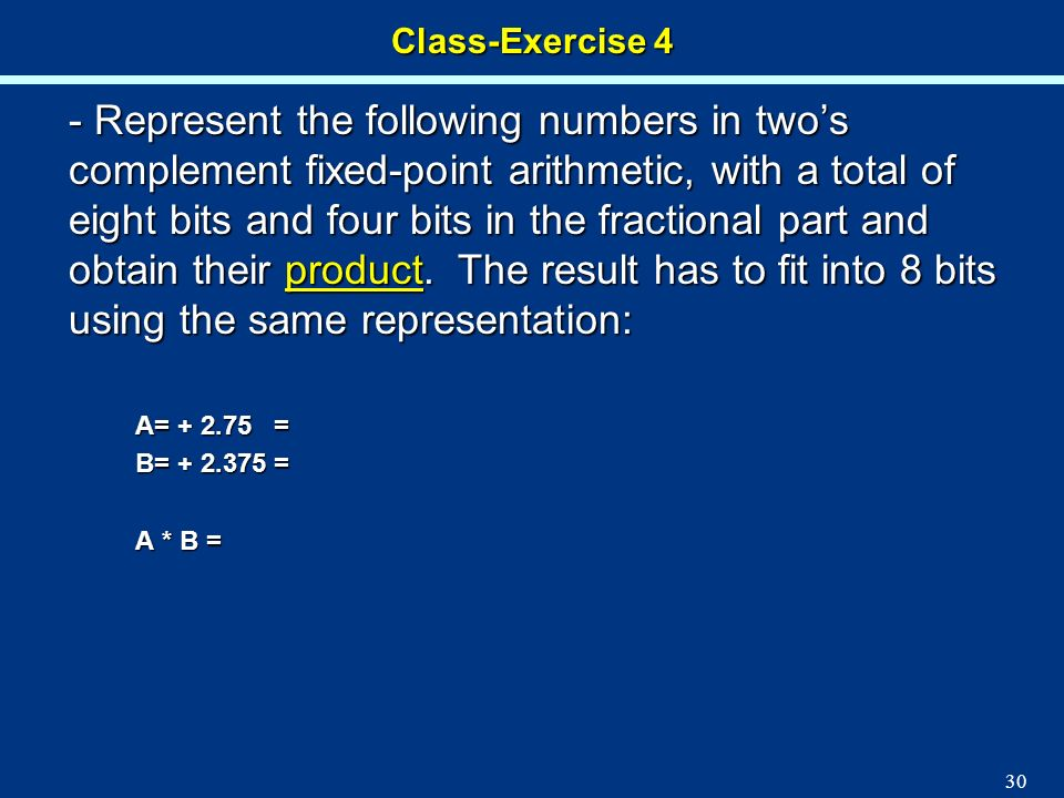 Class-Exercise 4