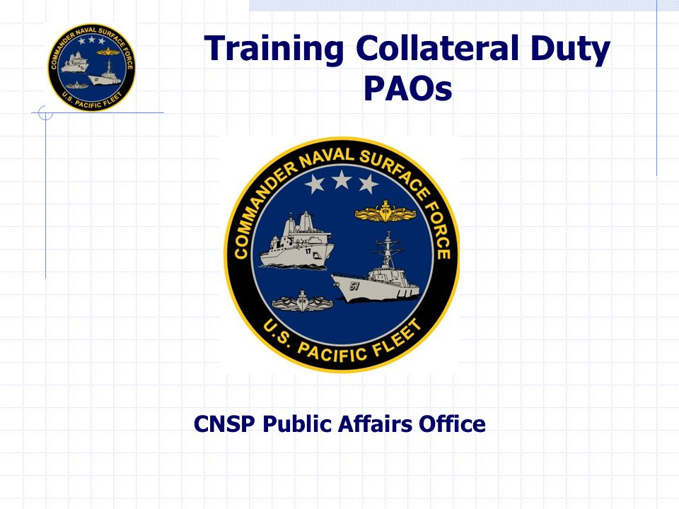CNSP Public Affairs Office