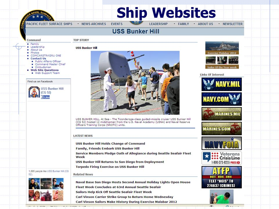 Ship Websites