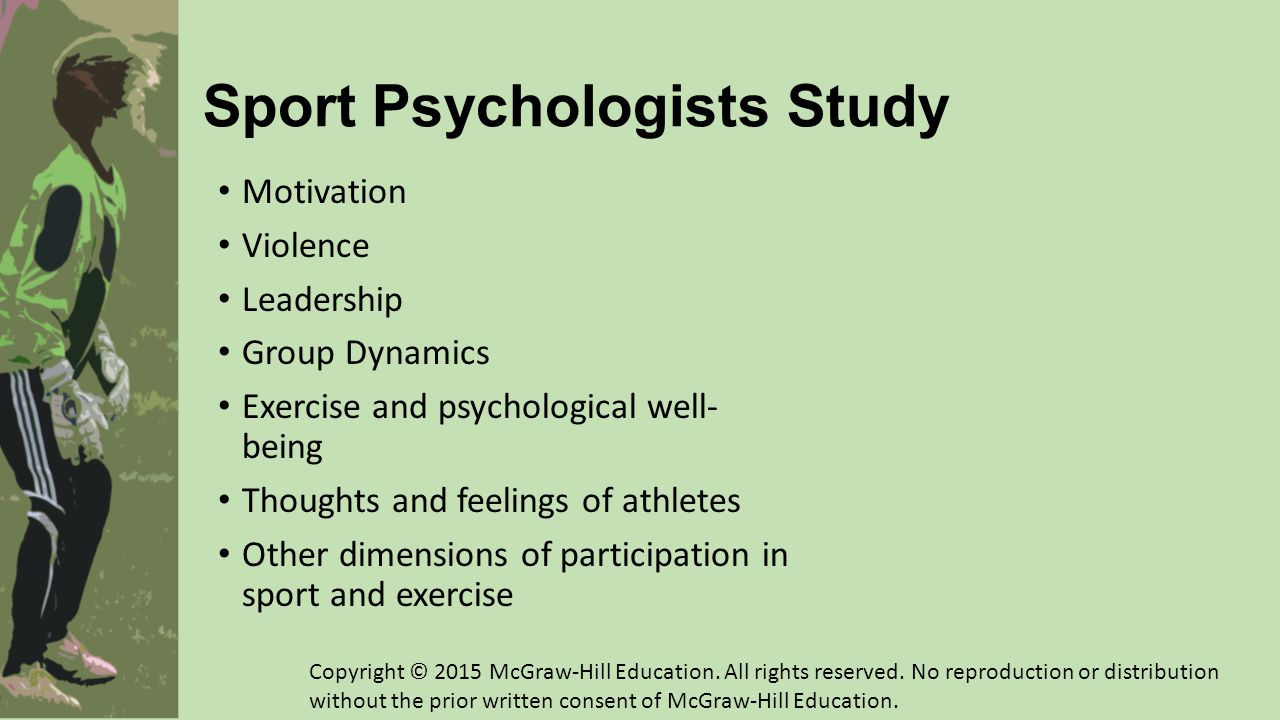 Sport Psychologists Study