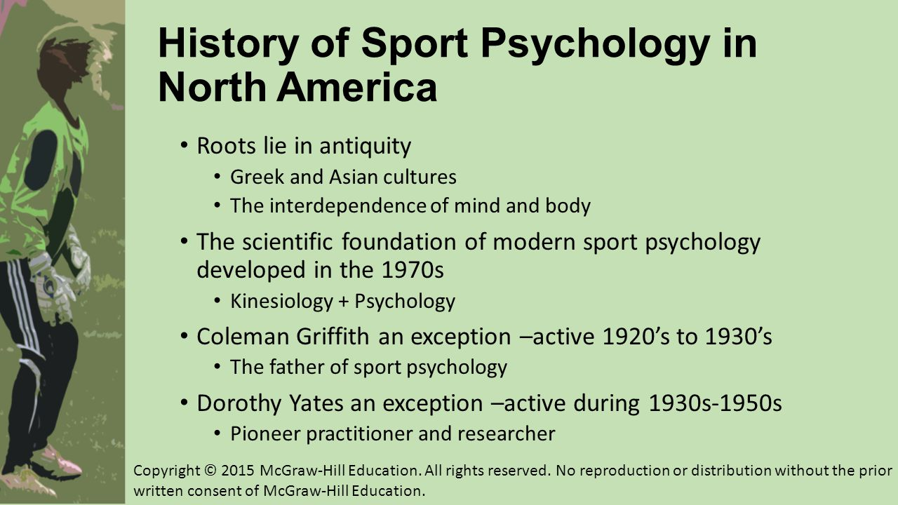 History of Sport Psychology in North America