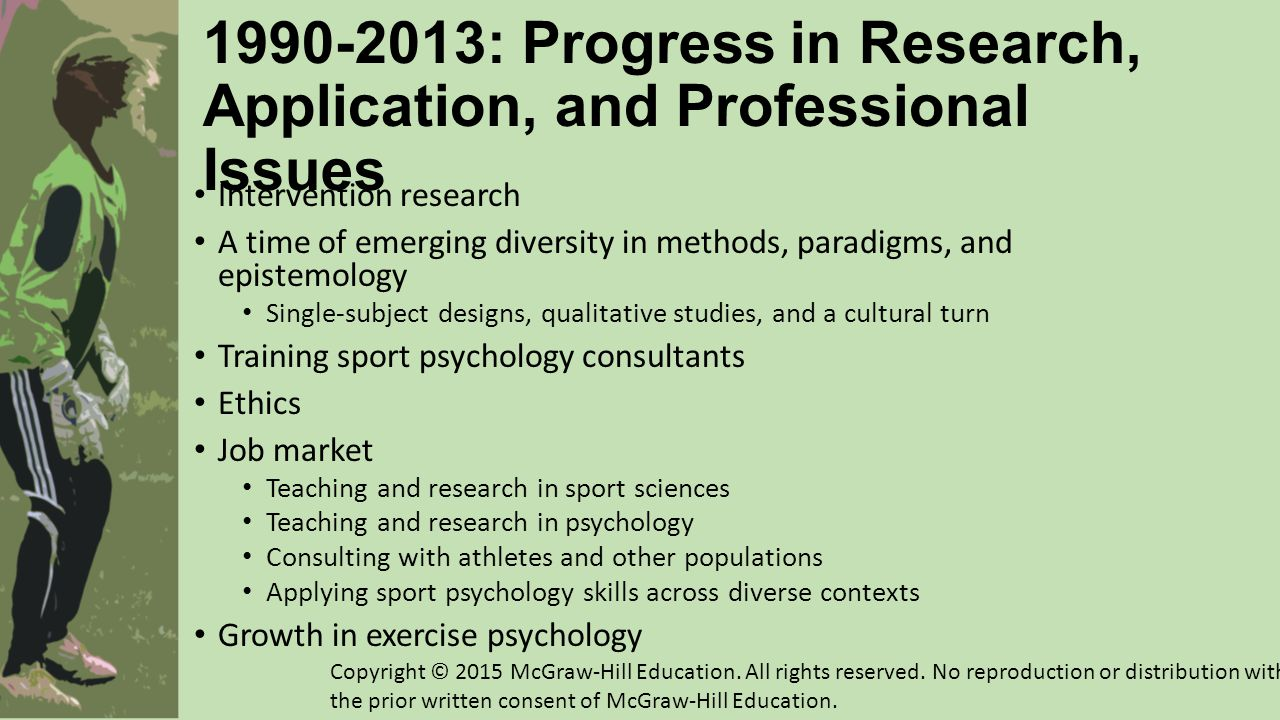 1990-2013: Progress in Research, Application, and Professional Issues