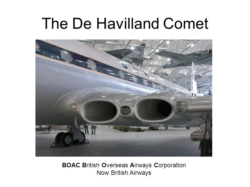 BOAC British Overseas Airways Corporation