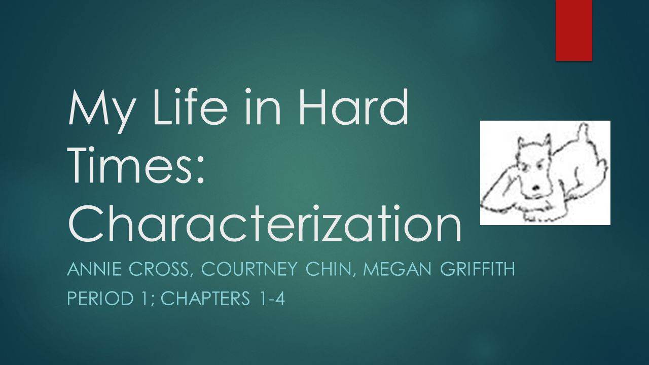 My Life in Hard Times: Characterization