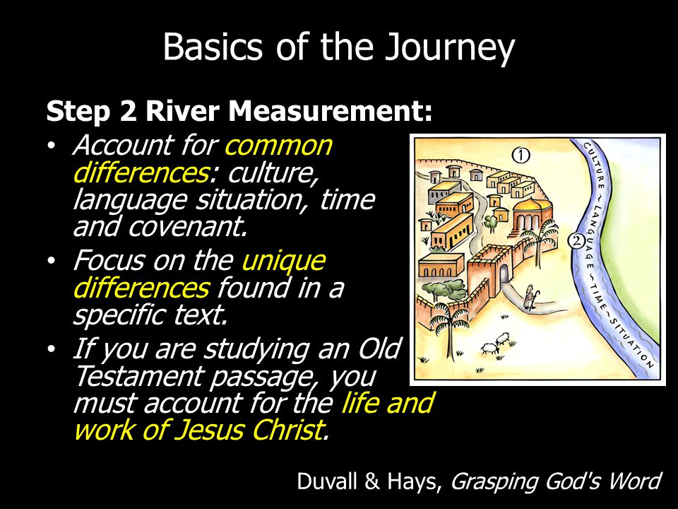Basics of the Journey Step 2 River Measurement: