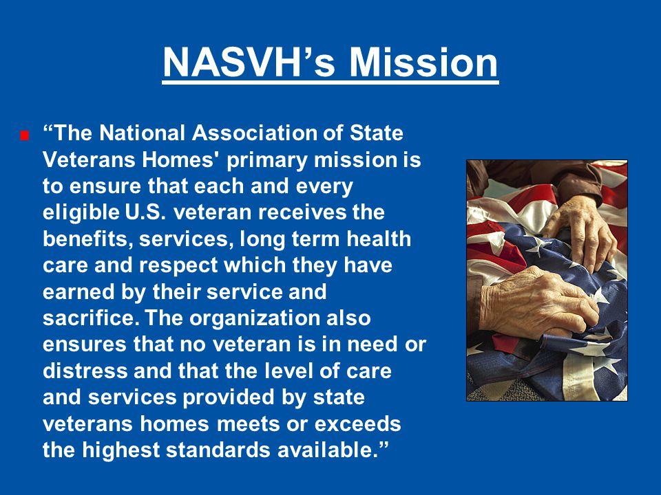NASVH's Mission