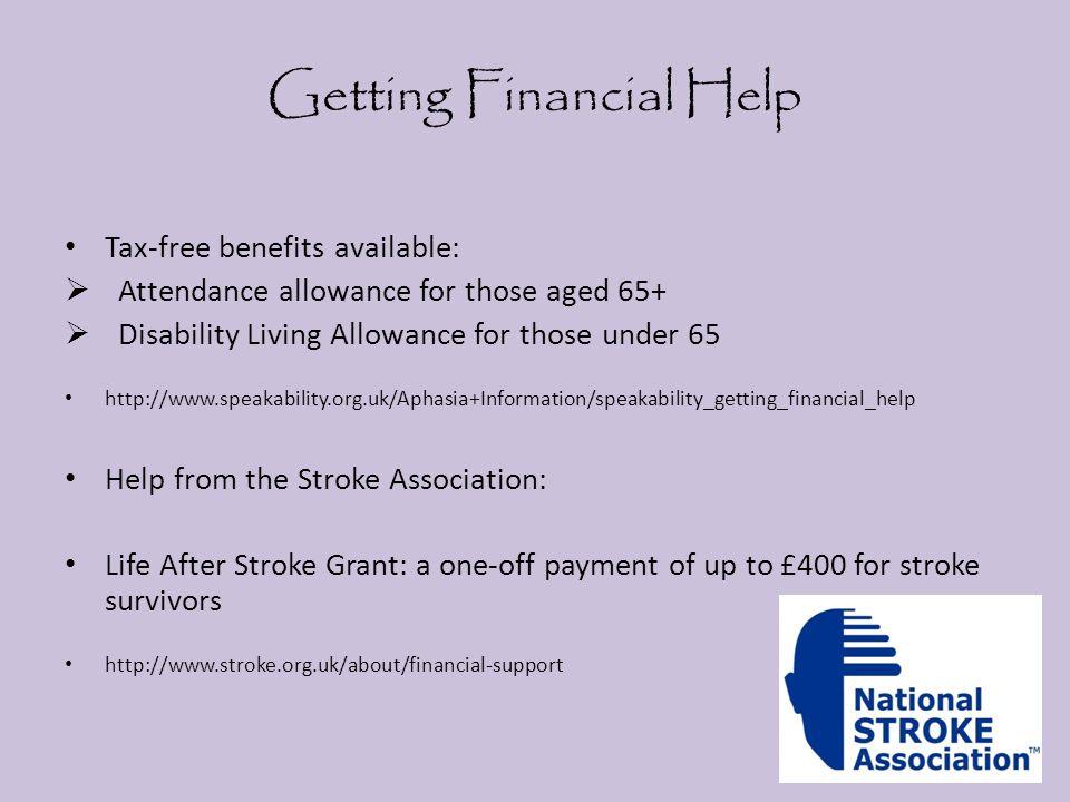 Getting Financial Help