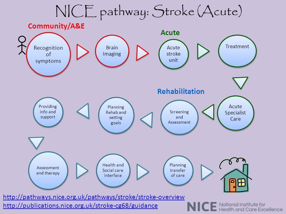 NICE pathway: Stroke (Acute)