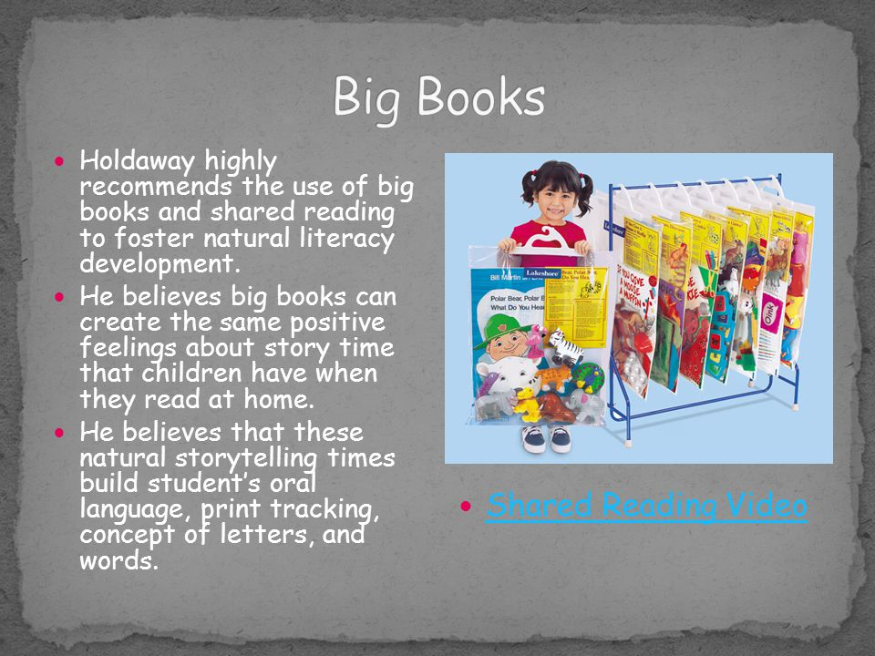 Big Books Shared Reading Video