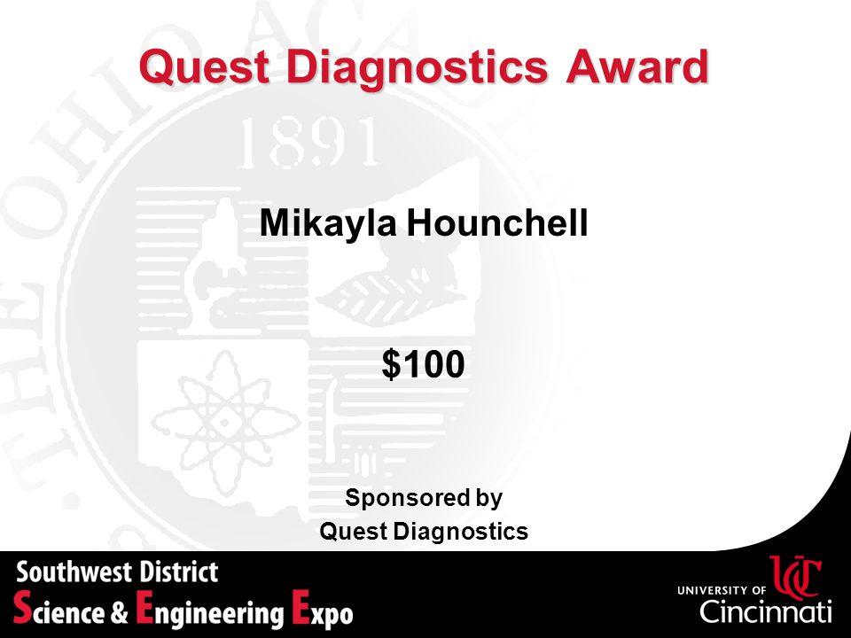 Quest Diagnostics Award