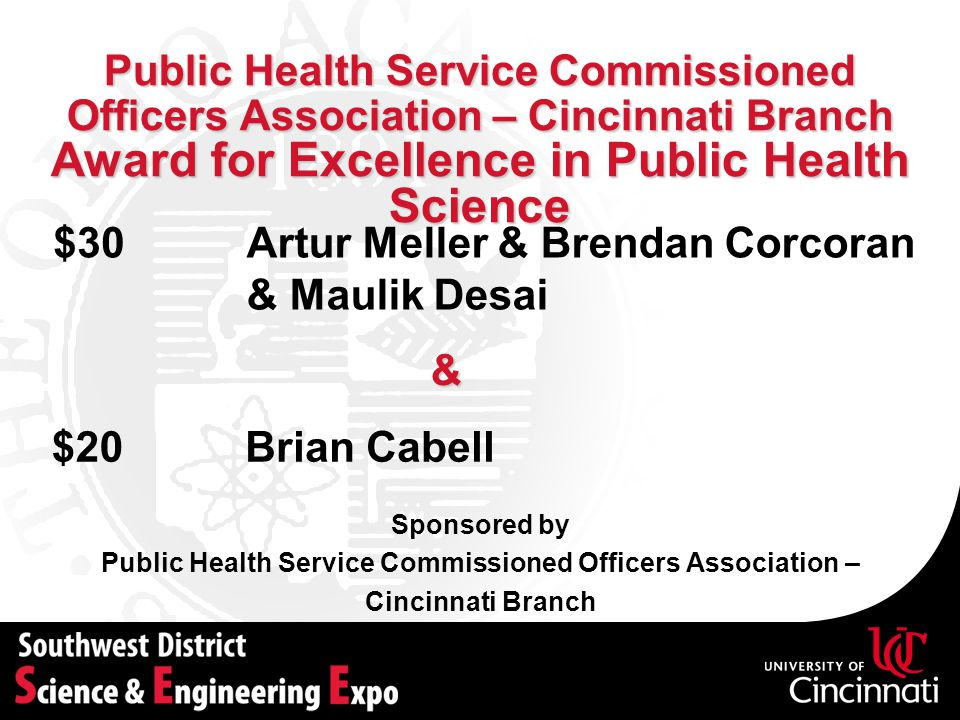 Public Health Service Commissioned Officers Association –