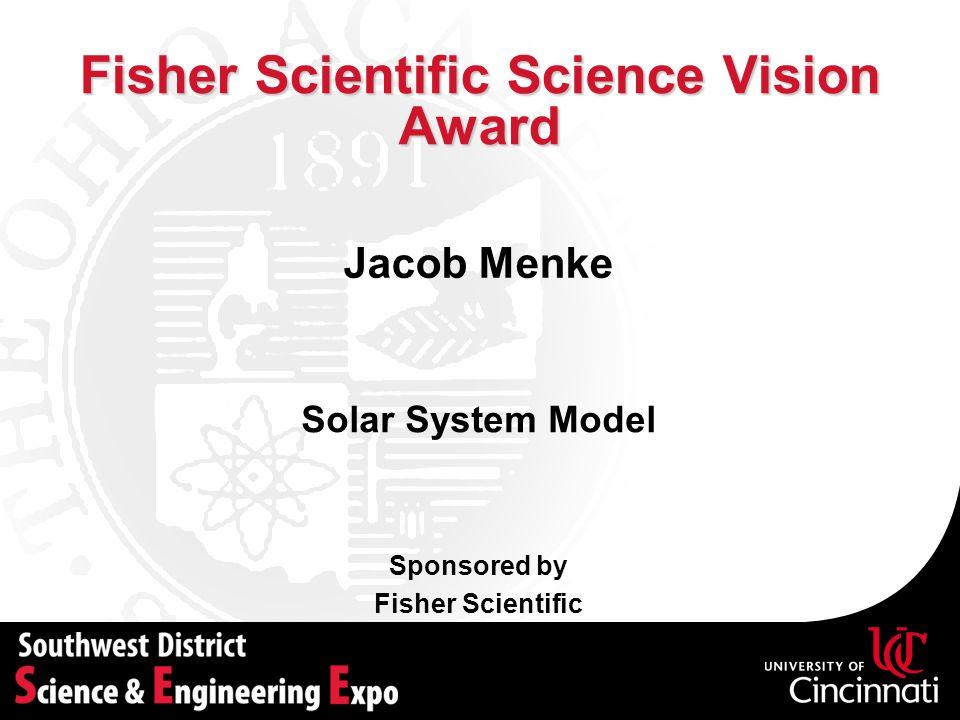 Fisher Scientific Science Vision Award