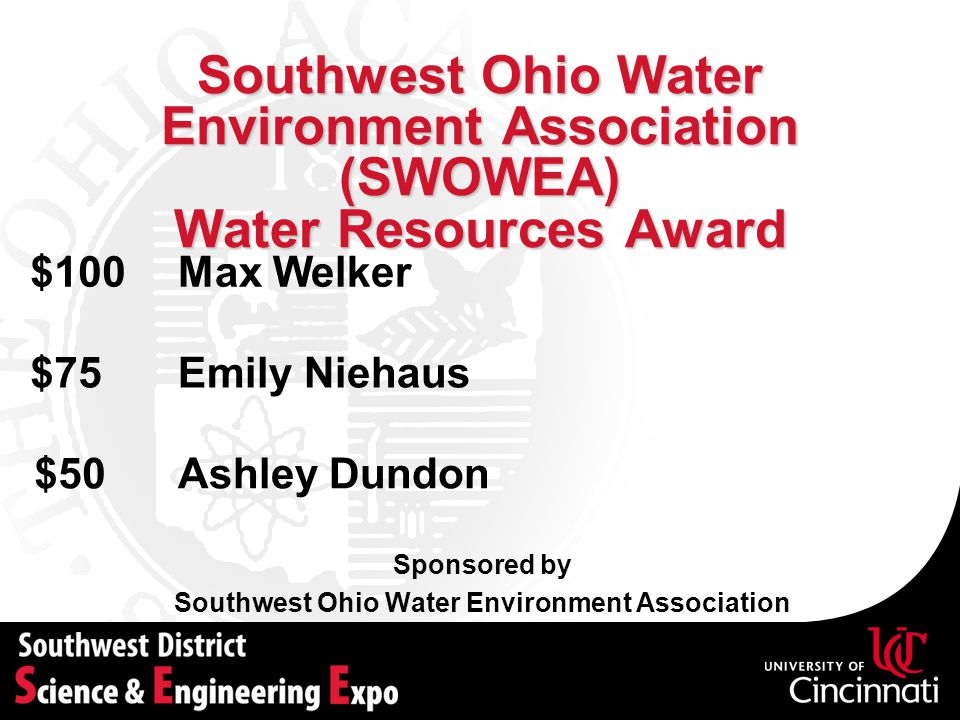 Southwest Ohio Water Environment Association