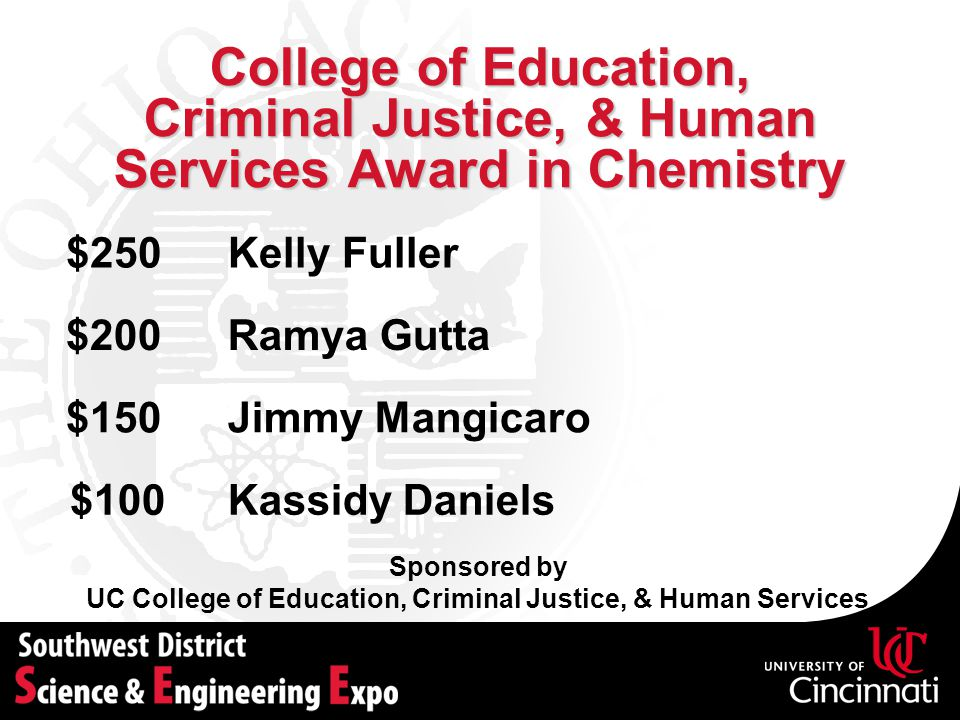 UC College of Education, Criminal Justice, & Human Services