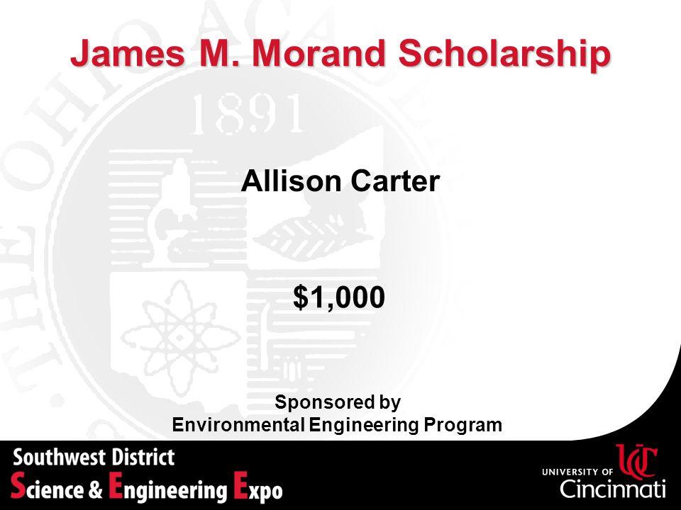 James M. Morand Scholarship