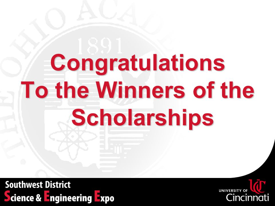 To the Winners of the Scholarships