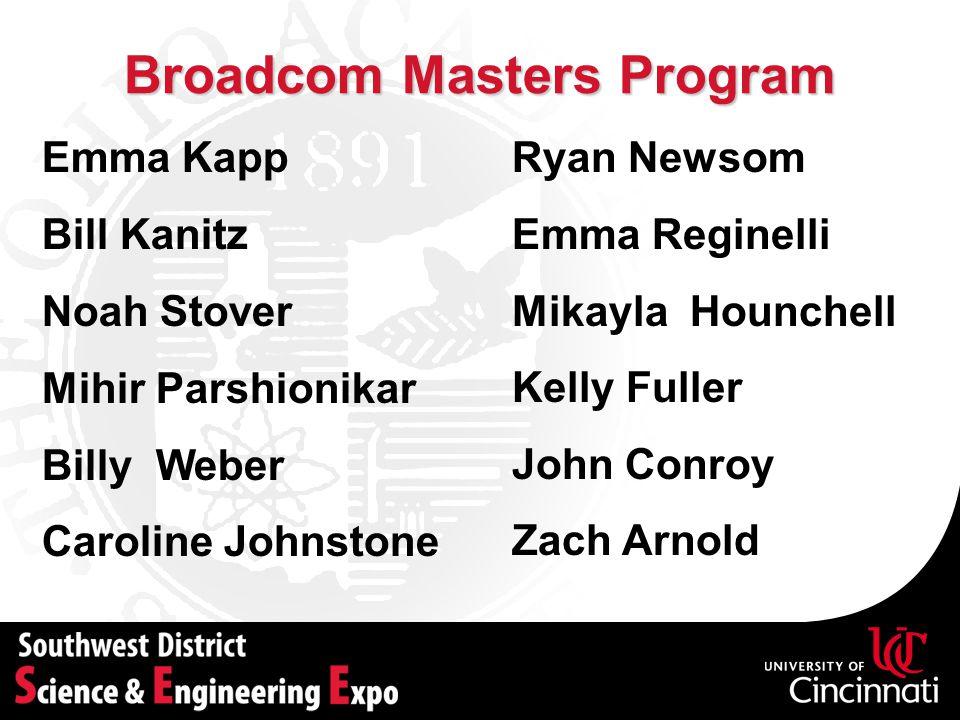 Broadcom Masters Program