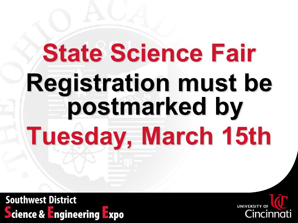 Registration must be postmarked by
