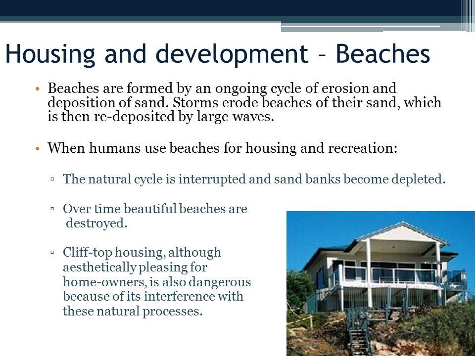 Housing and development – Beaches