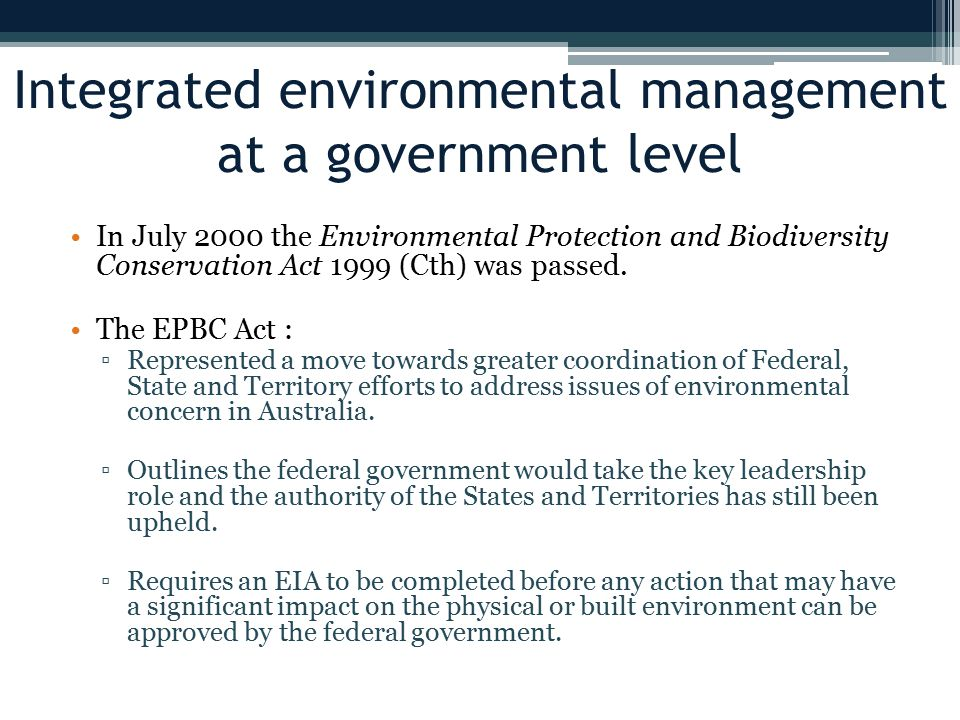 to what extent can a government be responsible for environmental protection Not only are these savings good for the environment, but they can make sound economic sense for a company organisations worldwide, from government agencies to retailers and financial institutions are now looking at the current and future impact of their activities.