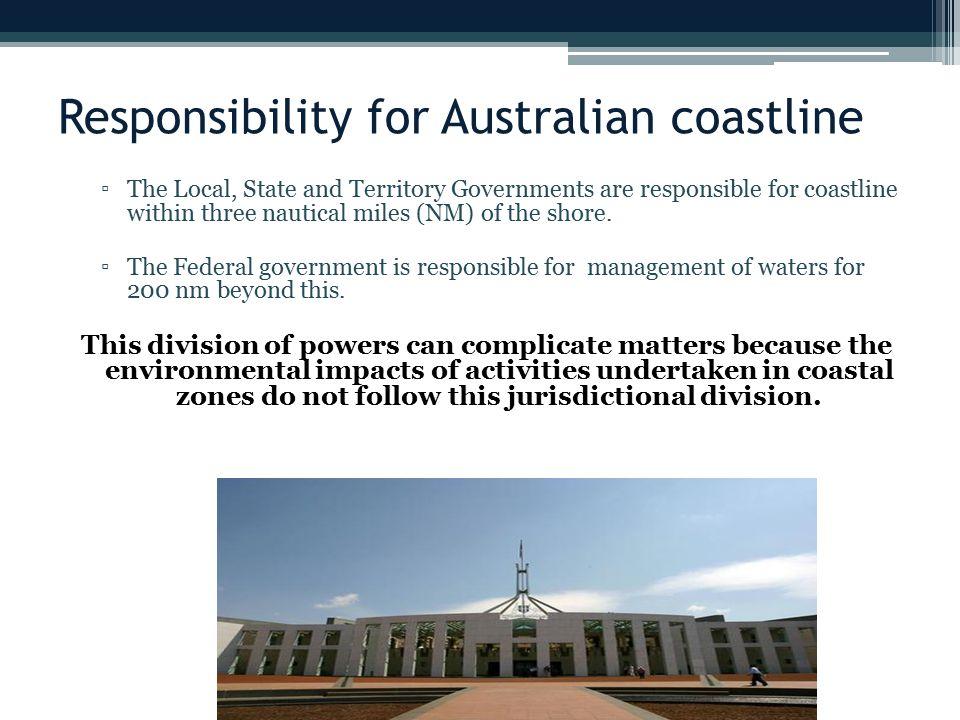 Responsibility for Australian coastline