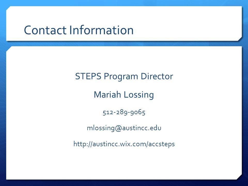 STEPS Program Director