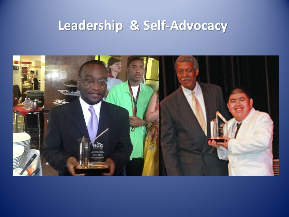 Leadership & Self-Advocacy