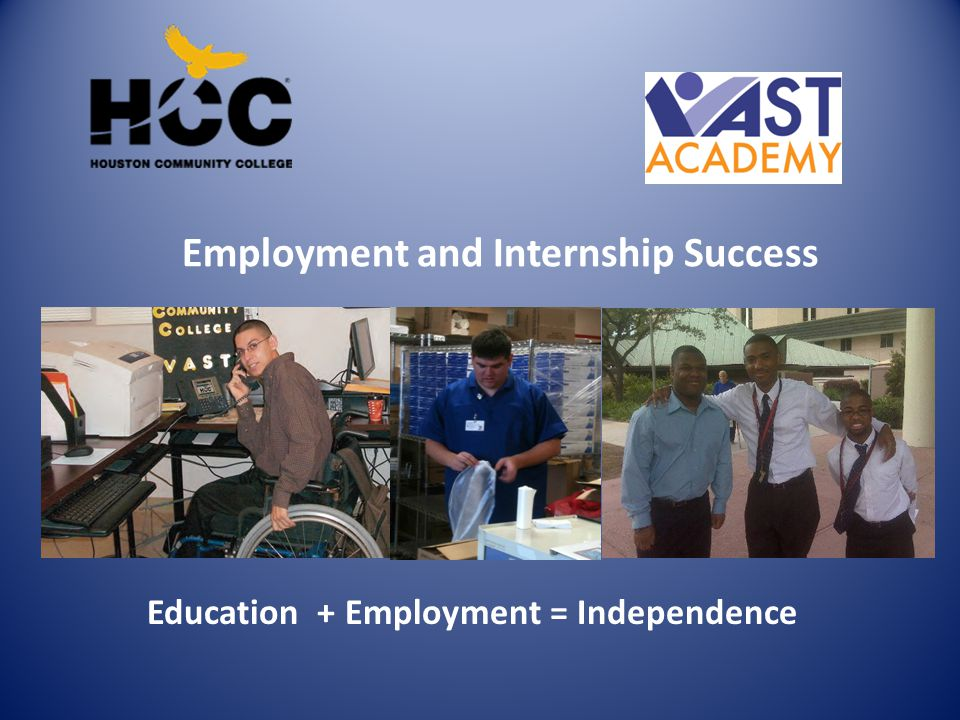 Employment and Internship Success