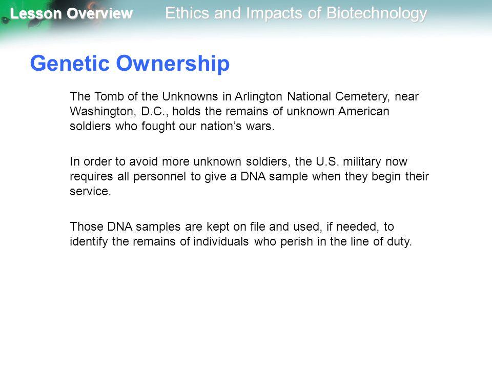 Genetic Ownership
