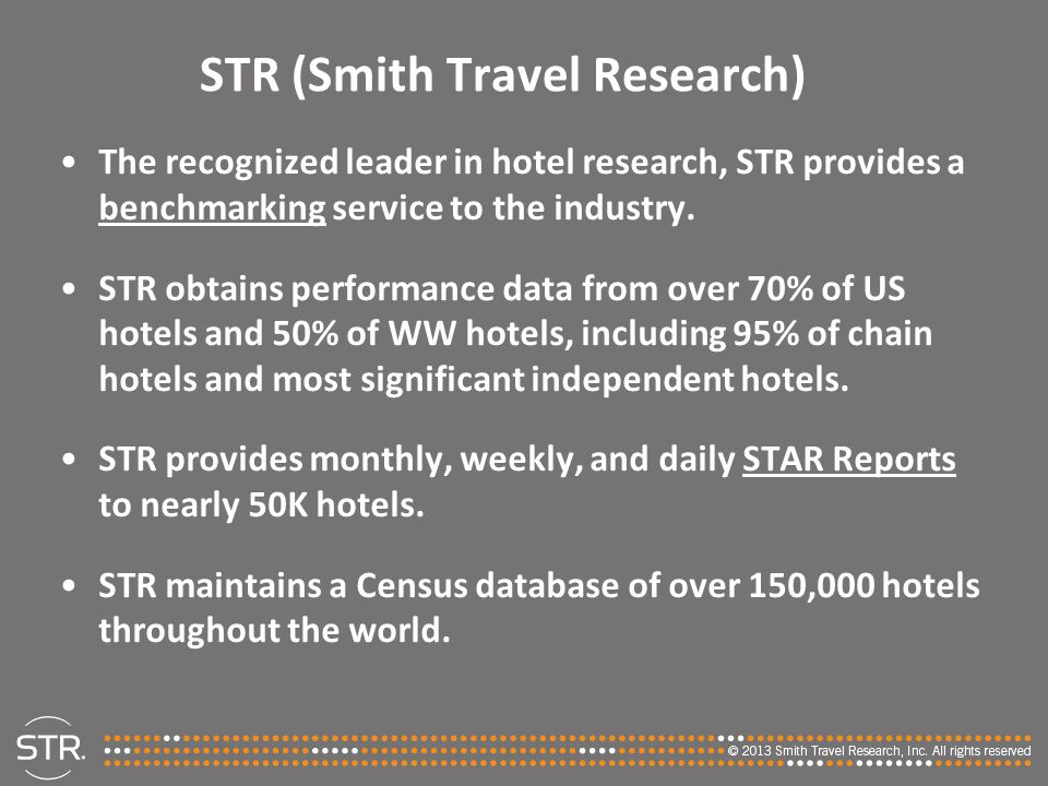 STR (Smith Travel Research)