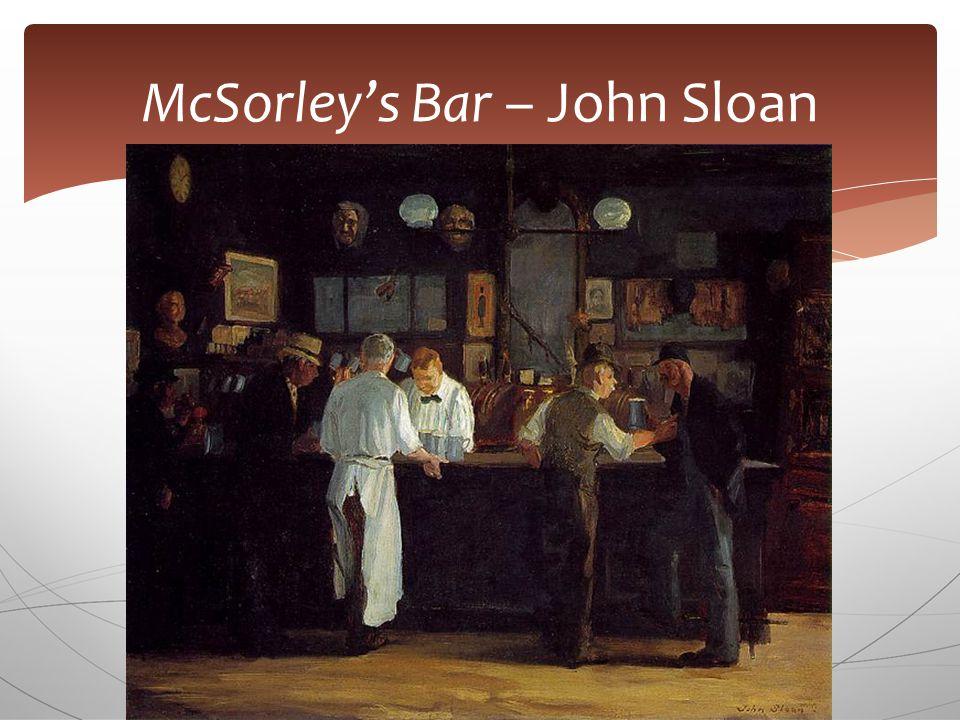 McSorley's Bar – John Sloan