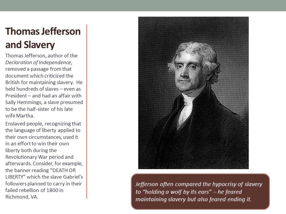 Thomas Jefferson and Slavery